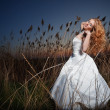 Stock Photo: Posing bride