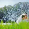 Loving wedding couple — Stock Photo #2768126