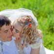 Loving wedding couple — Stock Photo #2768149