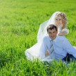 Loving wedding couple — Stock Photo #2768169