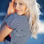 Pretty sailor — Stock Photo #2772109