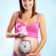 Happy smiling pregnant — Stock Photo #2775107