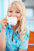 Kaffee am morgen — Stockfoto