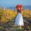 Child in autumn — Foto de stock #2780092