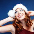 santa helper — Stock Photo
