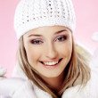 Fashion winter woman — Stock Photo