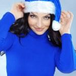 Cute christmas girl — Stock Photo