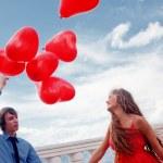 romantische betrokkenheid — Stockfoto