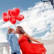 romantische engagement — Stockfoto