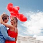 engagement romantique — Photo