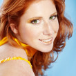 Beautiful redhead — Stock Photo