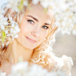 Royalty-Free Stock Photo: Spring bride portrait