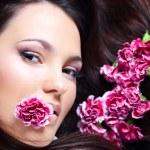 Beautiful face — Stock Photo