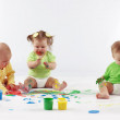 Babies painting — Stock Photo #2788301