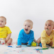 Babies painting — Stock Photo #2788340