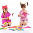 Playing kids — Stock Photo
