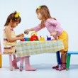 Stock Photo: Kids playing