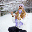 Winter vacations - Stock Photo