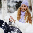 Stock Photo: Winter vacations