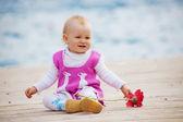 Little kid girl — Stock Photo