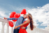 Romantic engagement — Stock Photo