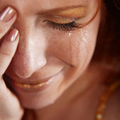 Crying woman — Stock Photo