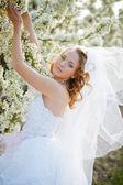 Spring bride portrait — Stock Photo