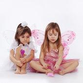 Little princesses — Stock Photo