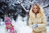 Winter vacations — Stock Photo