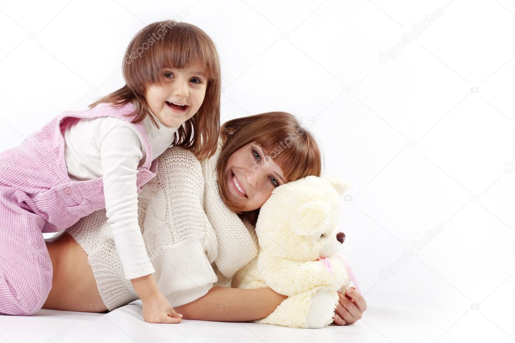 Portrait of loving mother with her child — Stock Photo #2788489