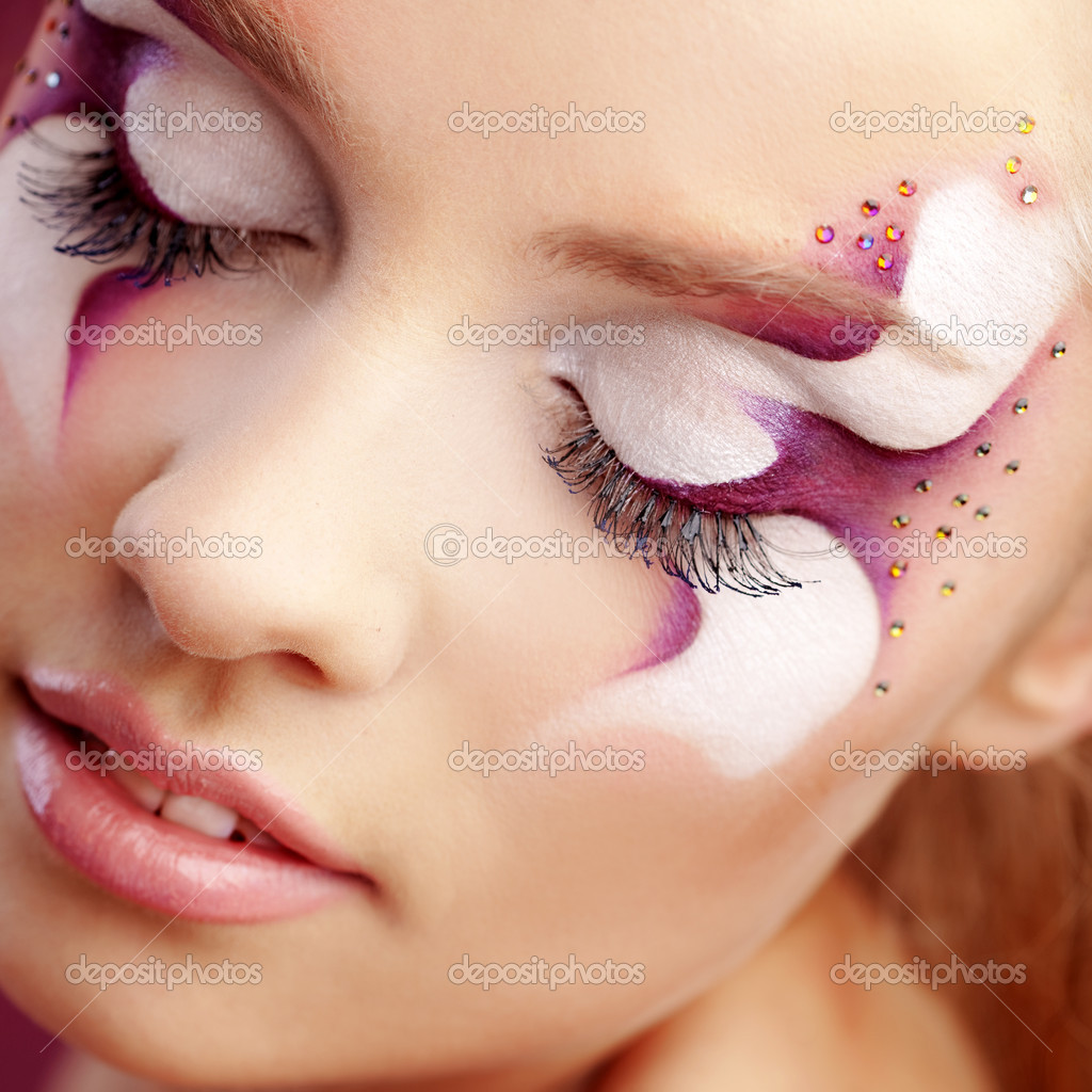 Beautiful Fantasy Faces Beautiful Fantasy Eye Face-art