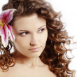 Healthy hair — Stockfoto