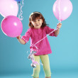 Royalty-Free Stock Photo: Child with balloons
