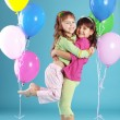 happy colorful children — Stock Photo #2791228