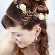 Foto de Stock  : Bridal hairstyle