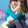 Happy mother with daughter — Stock Photo #2985173