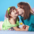 Happy mother with daughter — Stock Photo #2985275