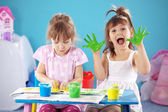 Kids drawing — Stock Photo