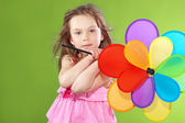 Child with toy — Stock Photo