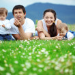 Happy family — Stock Photo #3091046