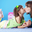 Happy mother with daughter — Stock Photo #3098334
