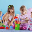 Playing kids - Stock Photo