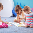 kids drawing — Stock Photo #3098379