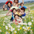 Mothers with children — Stock Photo