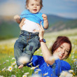 Happy mother with her child — Stock Photo #3267512