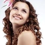 zdrowych włosów — Zdjęcie stockowe