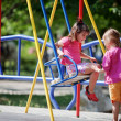 Children on playground — Stock Photo