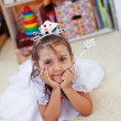 Little princess birthday — Stock Photo