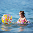 Kids playing in water — Stock Photo #3523811