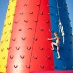 Child climbing — Stock Photo #3523813